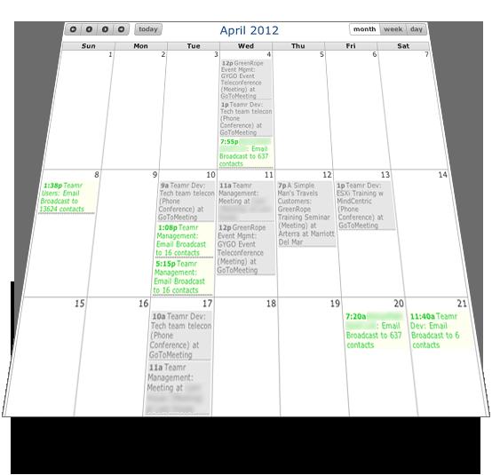 screen calendar